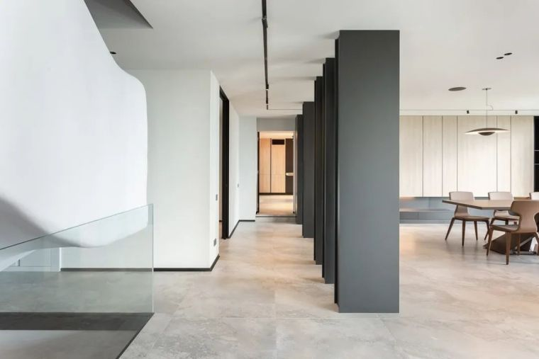开放式布局,现代别墅设计典范_11