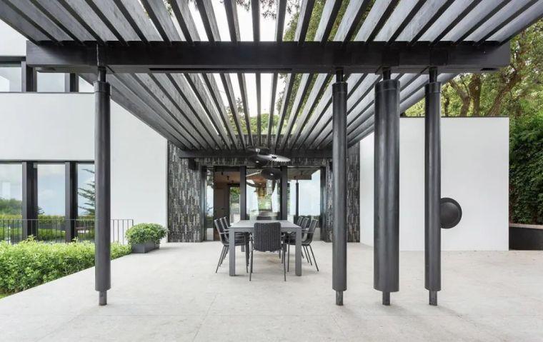 开放式布局,现代别墅设计典范_26