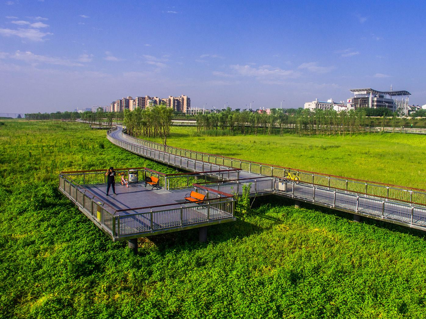 长沙湘江江滩公园