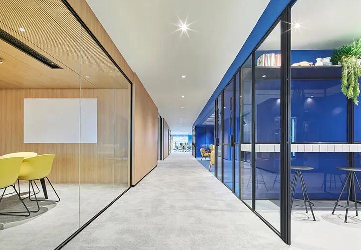 有创意的办公室走廊如何设计