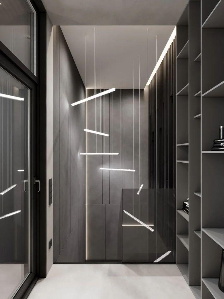 高级灰格调,诠释空间质感美学_10