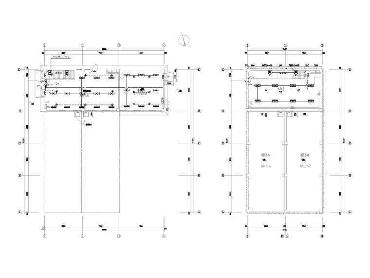 消防水池及泵房设计详图资料下载-重庆江北机场消防水池及泵房电气图纸[2018]