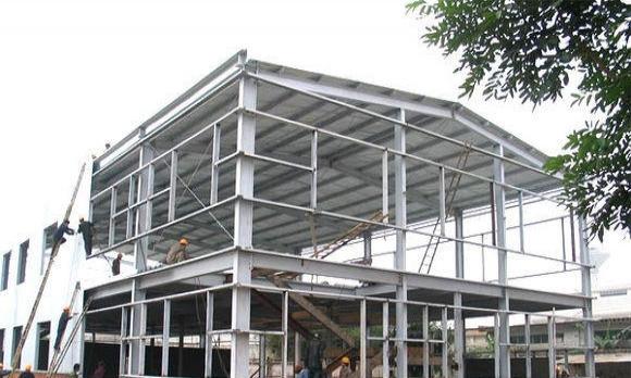 两层钢结构厂房造价资料下载-钢结构厂房的用钢量计算方法!