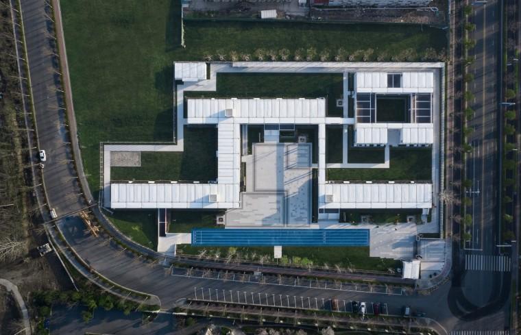南京集装箱校园-16.集装箱学校鸟瞰
