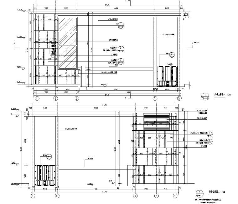 时代典雅住宅D1型入口景观施工图设计 (2)
