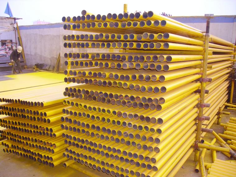 20套建筑工程安全施工组织设计-钢管堆放