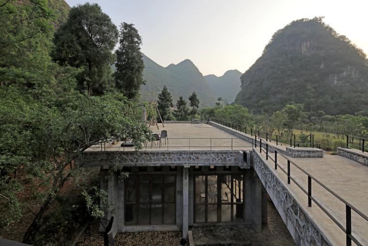 由南院屋顶北望(拍摄:张广源)