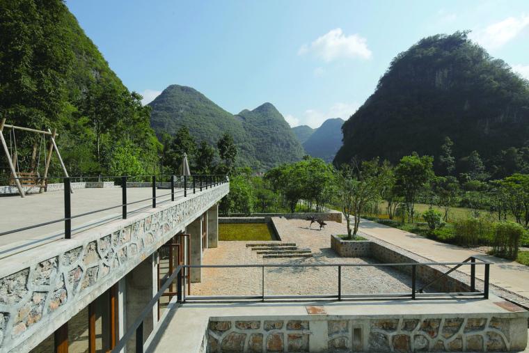 屋顶平台北望(拍摄:张广源)