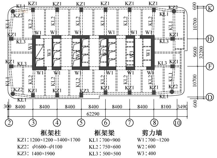 结构混凝土标准做法资料下载-超限高层结构中小偏心受拉混凝土剪力墙