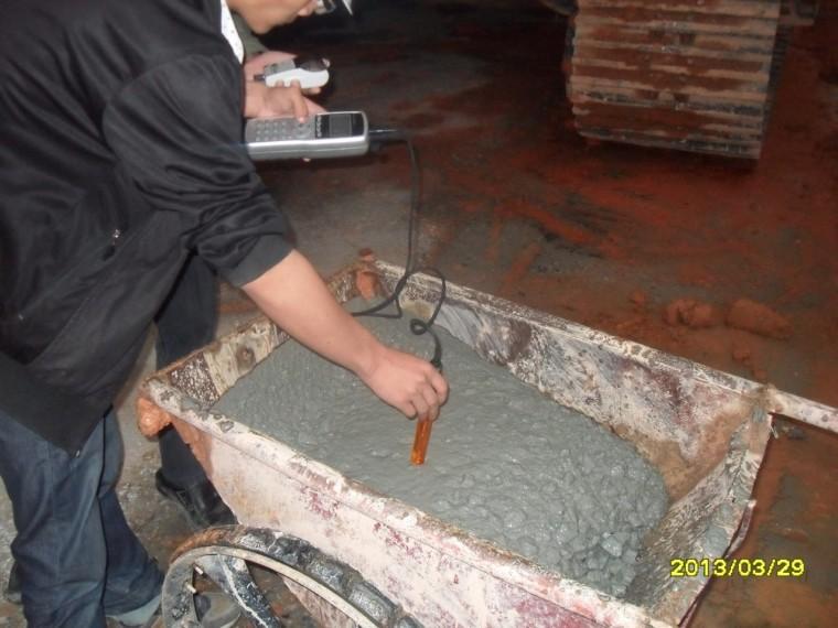 [深圳]地铁工程质量评价汇报材料-混凝土氯离子检测