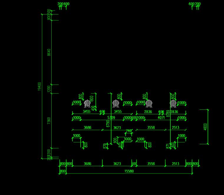 [深圳]地铁工程质量评价汇报材料-标准段主体结构横剖面图