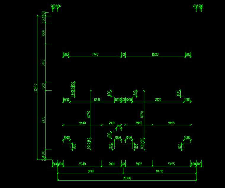[深圳]地铁工程质量评价汇报材料-盾构井段主体结构横剖面图