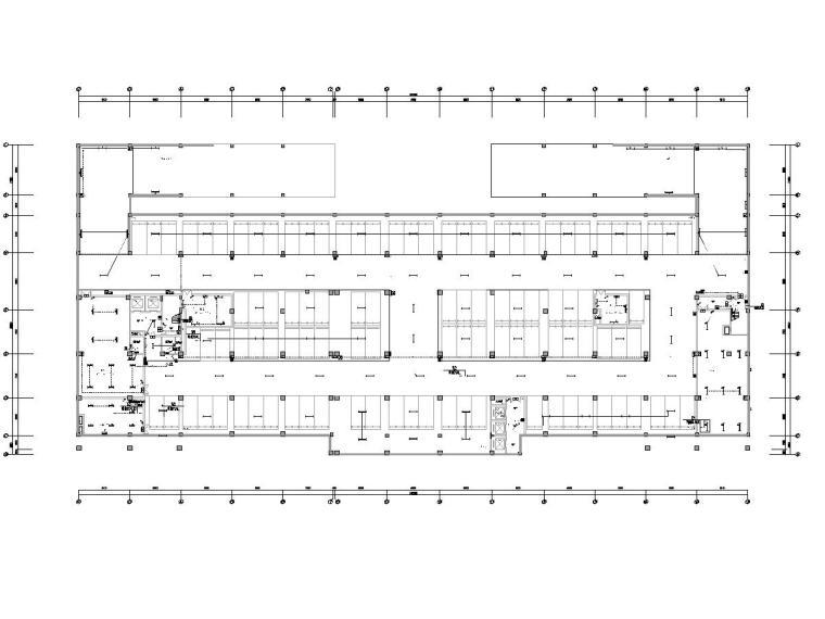 农村一层建筑施工图资料下载-9层农村商业银行办公楼电气施工图
