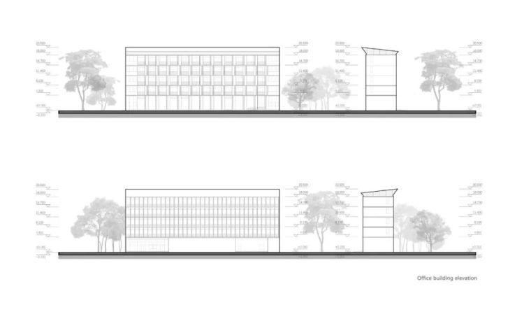 中学设计 开放式空间+包豪斯灰_30