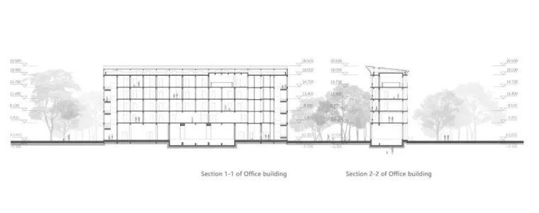 中学设计 开放式空间+包豪斯灰_31