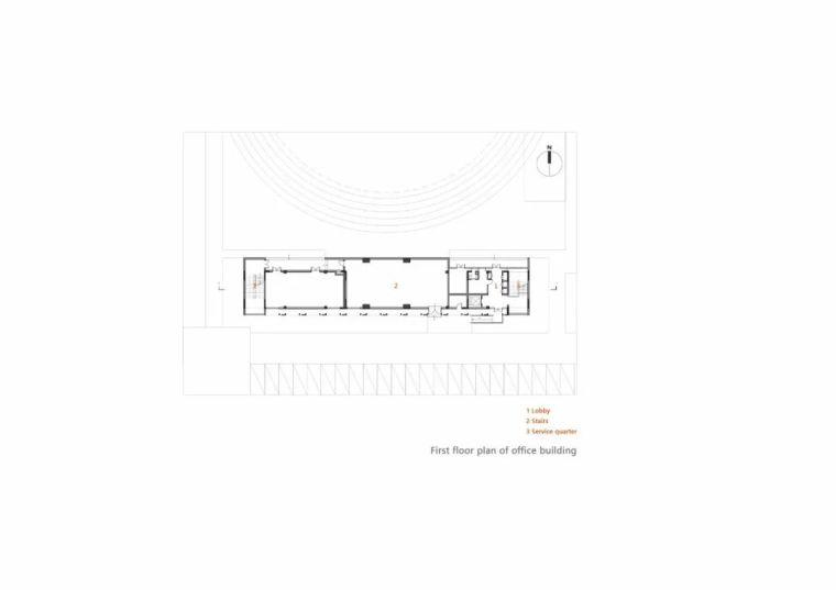 中学设计 开放式空间+包豪斯灰_28