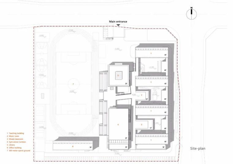 中学设计 开放式空间+包豪斯灰_27