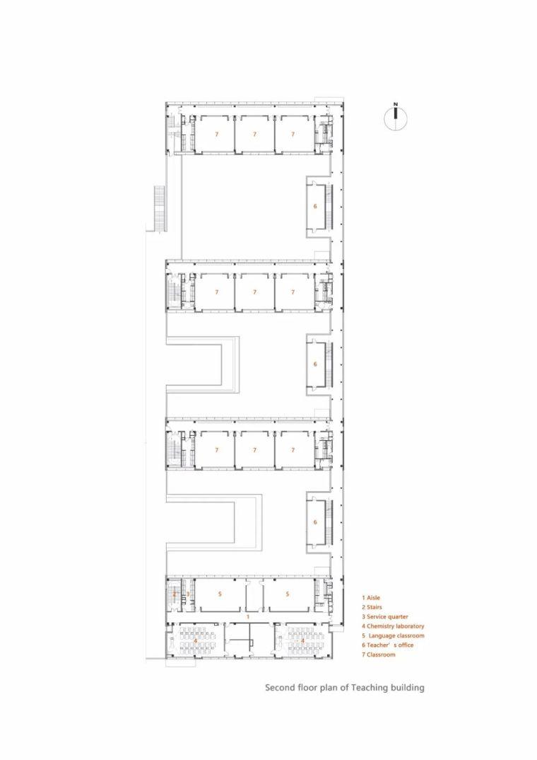 中学设计 开放式空间+包豪斯灰_33