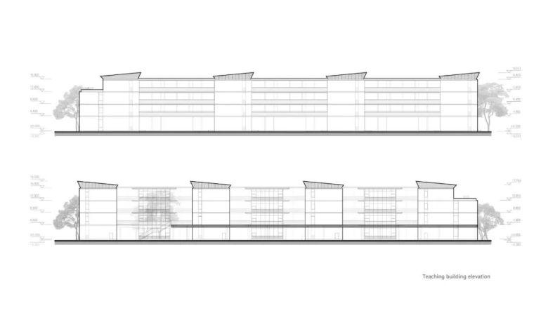 中学设计 开放式空间+包豪斯灰_36