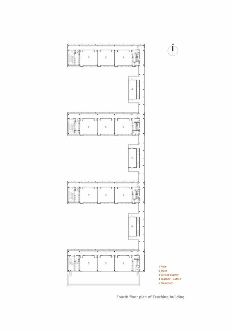 中学设计 开放式空间+包豪斯灰_35