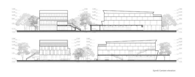 中学设计 开放式空间+包豪斯灰_44