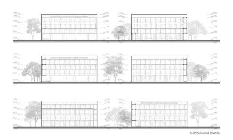 中学设计 开放式空间+包豪斯灰_37