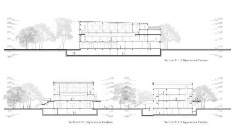 中学设计 开放式空间+包豪斯灰_45