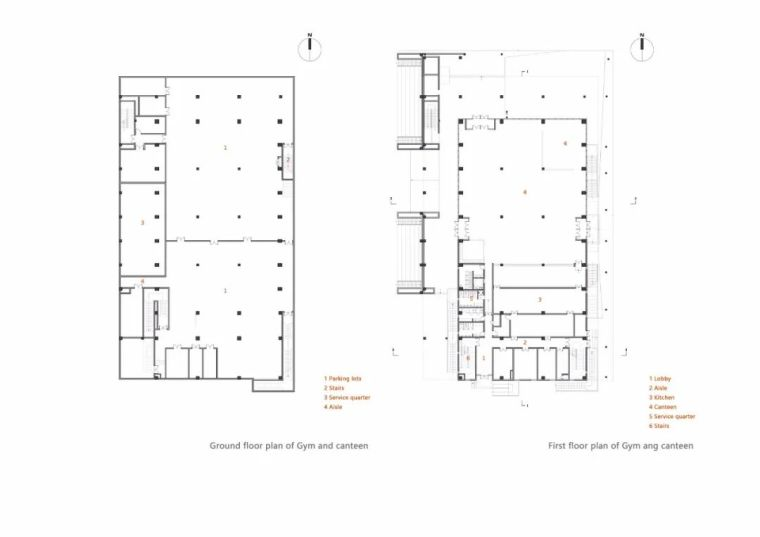 中学设计 开放式空间+包豪斯灰_42