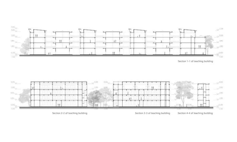 中学设计 开放式空间+包豪斯灰_38
