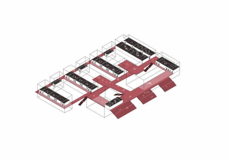 中学设计 开放式空间+包豪斯灰_50
