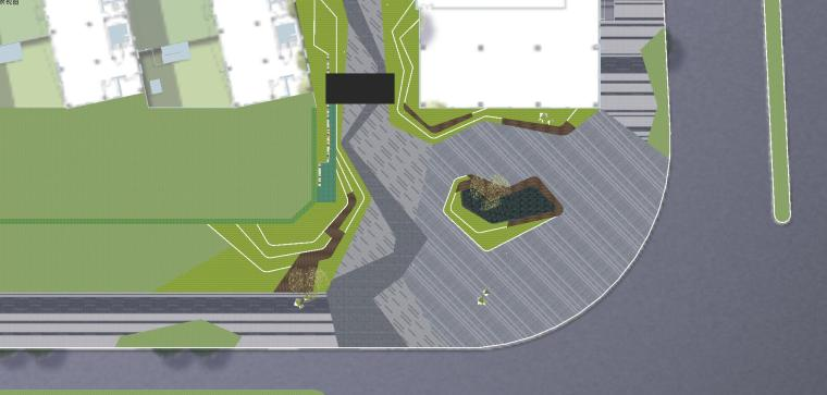 知名企业海创中心现代风格景观模型设计 (5)