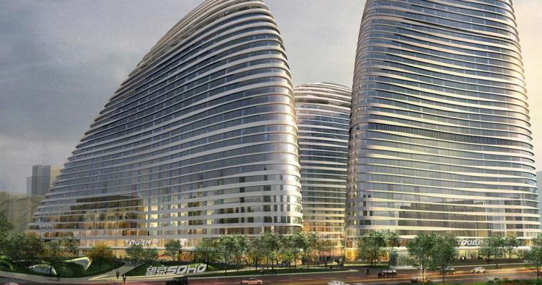 [北京]知名商业办公区景观设计方案-景观效果图4