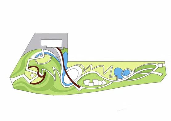风景园林快题曲线构图技巧(小尺度)_25