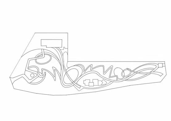 风景园林快题曲线构图技巧(小尺度)_23