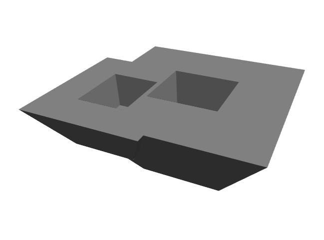 revit室内装饰族资料下载-Revit联合基坑族创建及下载