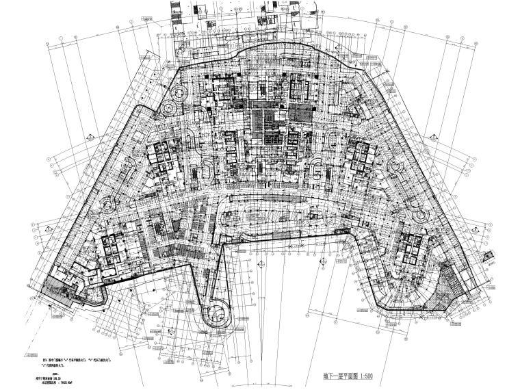 南京林业大学广场设计资料下载-[重庆]来福士广场T3T4办公大堂+电梯厅图纸