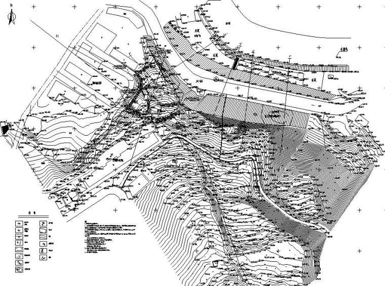 滑坡防治投标资料下载-地质灾害防治工程施工图及招标文件2017