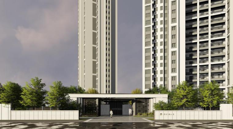 欧式风情街景观资料下载-[福建]莆田现代风格住宅区景观设计方案