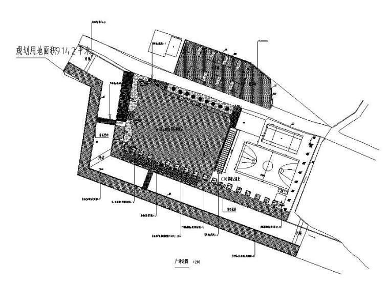 南京林业大学广场设计资料下载-[遵义]文化广场景观施工图及招标文件2019