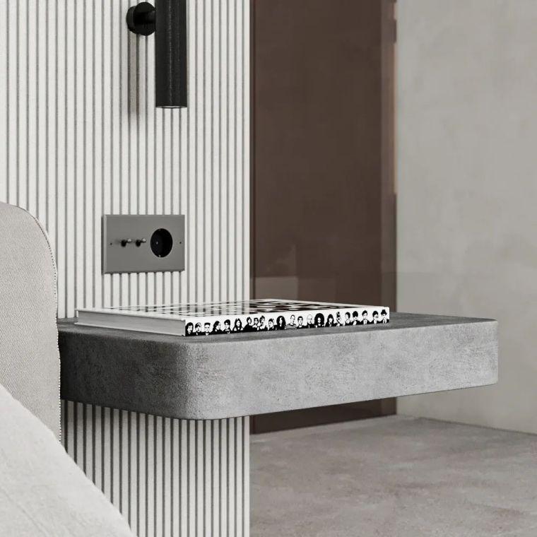 黑白+线面,极简主义的克制与平衡_14