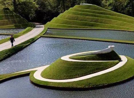 景观设计中常见的六种高差处理手法_14