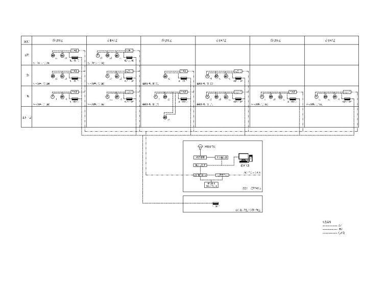 十套精品弱电智能化专项图纸合集-[苏州]大型游泳馆弱电施工图(含多种系统)-6标准时钟系统图
