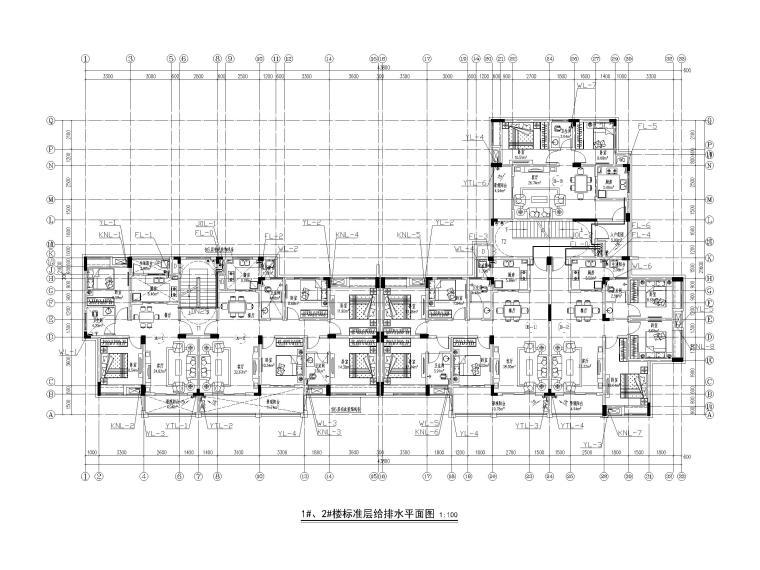 欧式二层滨水咖啡厅图资料下载-安置房建设项目给排水施工图含招标文件