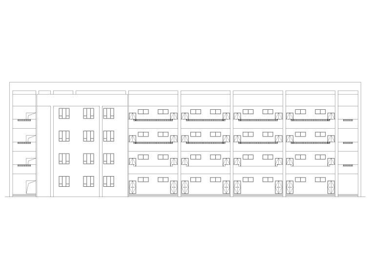 青少年宫建筑图纸资料下载-学校综合楼建筑图纸含招标文件