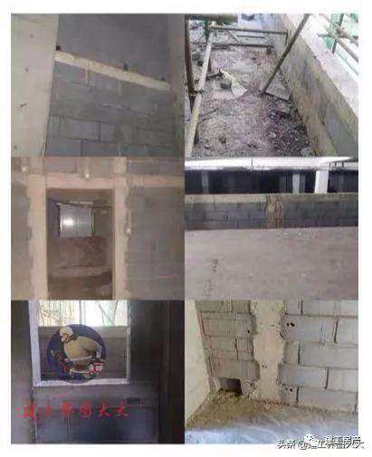 结构混凝土标准做法资料下载-填充墙中混凝土构造柱、过梁、压顶规范做法