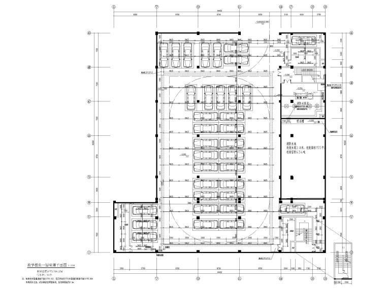 欧式二层滨水咖啡厅图资料下载-教学楼给排水施工图含招标文件