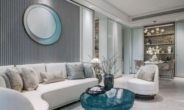 96㎡蒂芙尼蓝中式住宅,时尚的惊鸿一瞥!_12