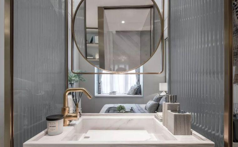96㎡蒂芙尼蓝中式住宅,时尚的惊鸿一瞥!_19