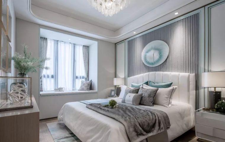 96㎡蒂芙尼蓝中式住宅,时尚的惊鸿一瞥!_15
