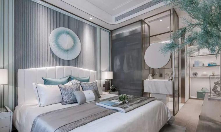 96㎡蒂芙尼蓝中式住宅,时尚的惊鸿一瞥!_16